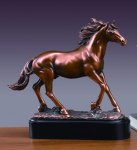 Stallion Horse Sculptures